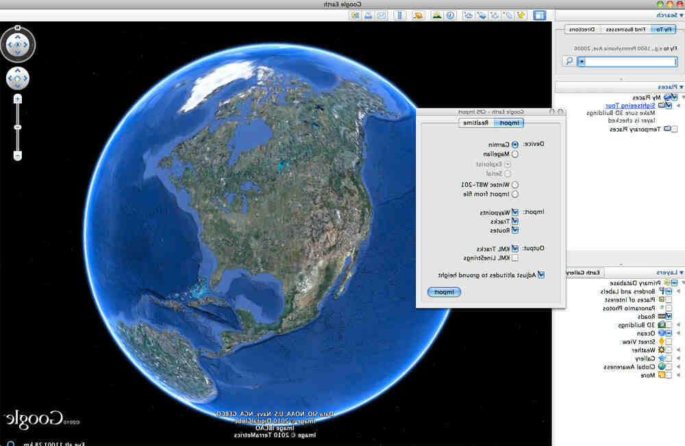 Can you change the year on Google Earth app?